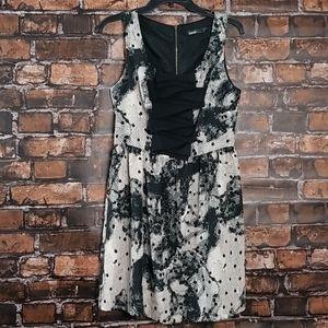 Kensie Dresses| Sleeveless Printed A Line Dress